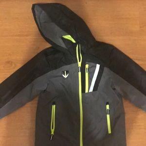Boys Fleece Lined Hooded Jacket